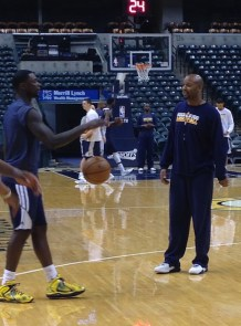 Lance Stephenson, Brian Shaw, Pacers, Los Angeles Lakers