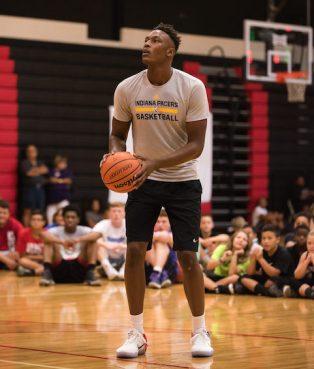 Myles Turner basketball camp7