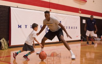 Myles Turner basketball camp9