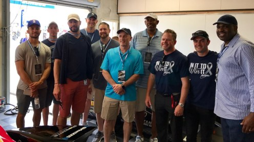 2017-05-19 McMillan and staff at IMS6