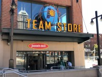 Dunkin Donuts, Bankers Life Fieldhouse, Jason's Deli
