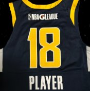 Mad Ants new uniform - blue jersey back