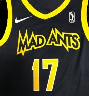 Mad Ants new uniform - blue jersey front