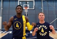 Victor Oladipo, Indianapolis, Mayor Joe Hogsett, St. Vincent Center
