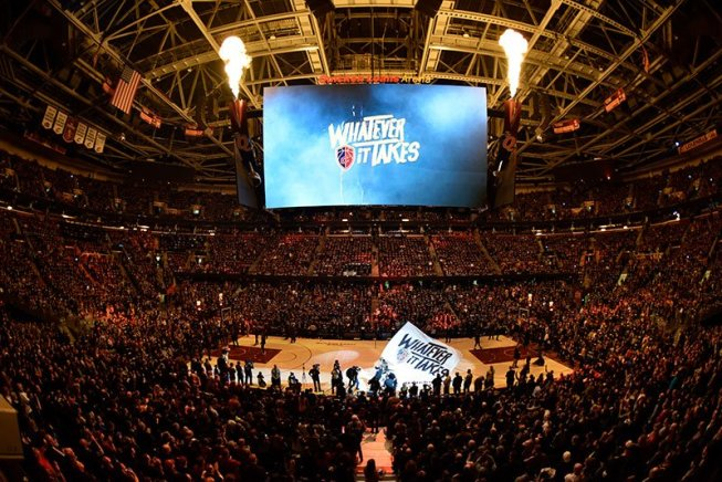 Cleveland Cavaliers, Indiana Pacers, Quicken Loans Arena