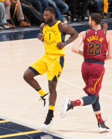 Lance Stephenson, Pacers, 2018 NBA Playoffs, Cleveland Cavaliers