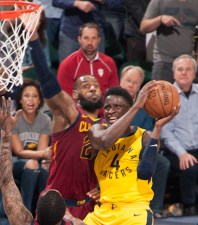 Victor Oladipo, Cleveland Cavaliers, Pacers, 2018 NBA Playoffs
