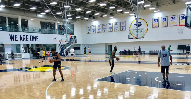 Pacers, St. Vincent Center