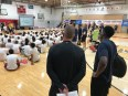 2018-08-05 Victor Oladipo basketball camp group
