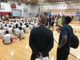 2018-08-05 Victor Oladipo basketball camp group