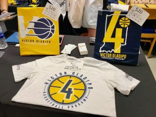 2018-08-05 Victor Oladipo basketball camp t-shirt