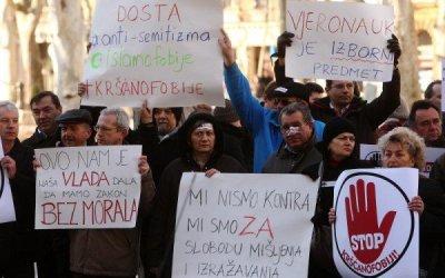"""Vrhovni sud odbacio tužbu lezbijske """"Kontre"""" i potvrdio pravo na vjeroispovijed u slučaju vjeroučiteljice Ćorić Mudrovčić"""
