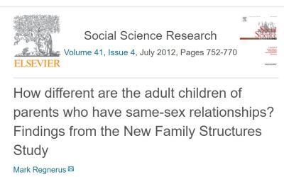 Rezultati Istraživanja: Koliko se odrasla djeca, čiji su roditelji u istospolnim zajednicama, razlikuju od ostalih?