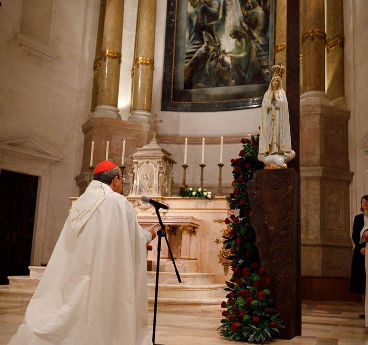 Posveta Portugala i Španjolske Presvetim Srcima Isusa i Marije