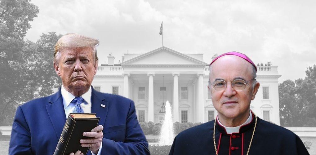 Snažno pismo nadbiskupa Vigana predsjedniku Trumpu: Upravo se ...