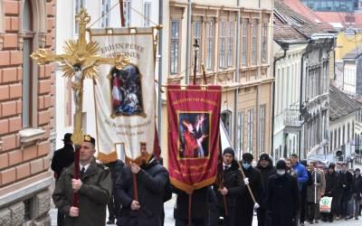 Svetci prošli kroz Zagreb