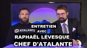 Entretien avec Raphaël Lévesque chef d'Atalante