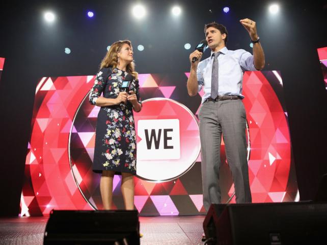 WE Charity a été payé 1,18 millions $ par le gouvernement Trudeau
