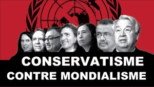 Richard Décarie : Conservatisme contre mondialisme