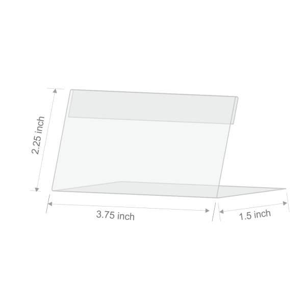 Acrylic Table TOP Name Plates