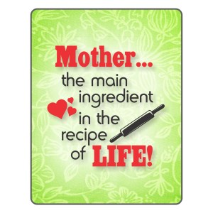 Mother's day fridge magnet