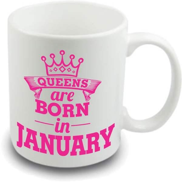 Queens are born mug