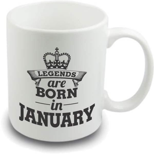 Legends are born mug