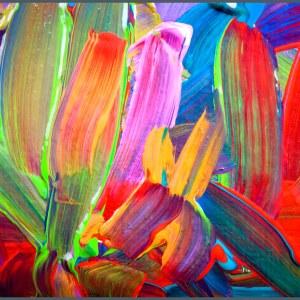 Artistic canvas frame