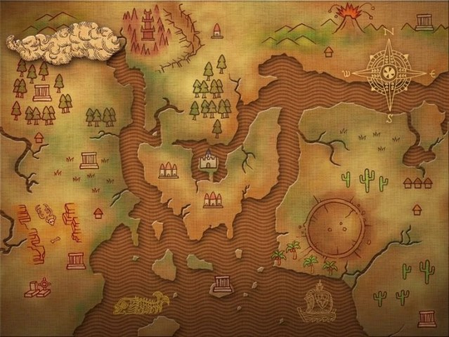 Image   World Map jpg   3D Dot Game Heroes Wiki   FANDOM powered by     World Map jpg