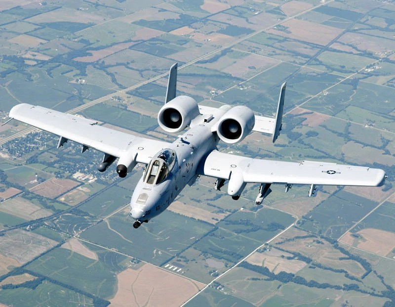 Fairchild Republic A-10 Thunderbolt II   Aircraft Wiki ...