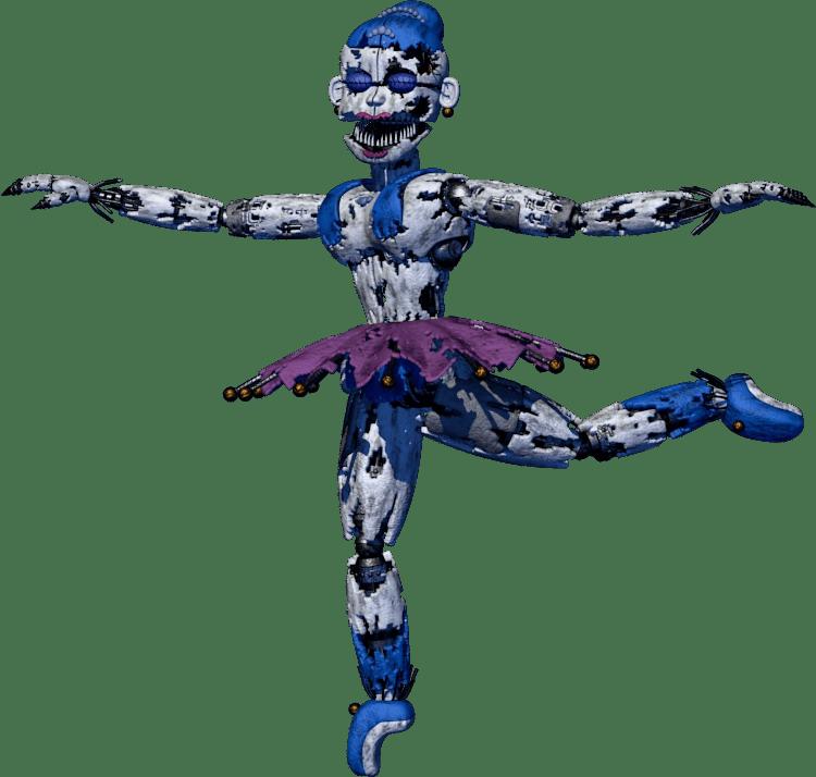 F Naf Sister Location Endoskeleton