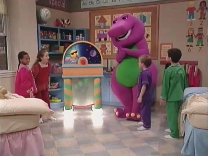 Pajama Party Barney Vhs