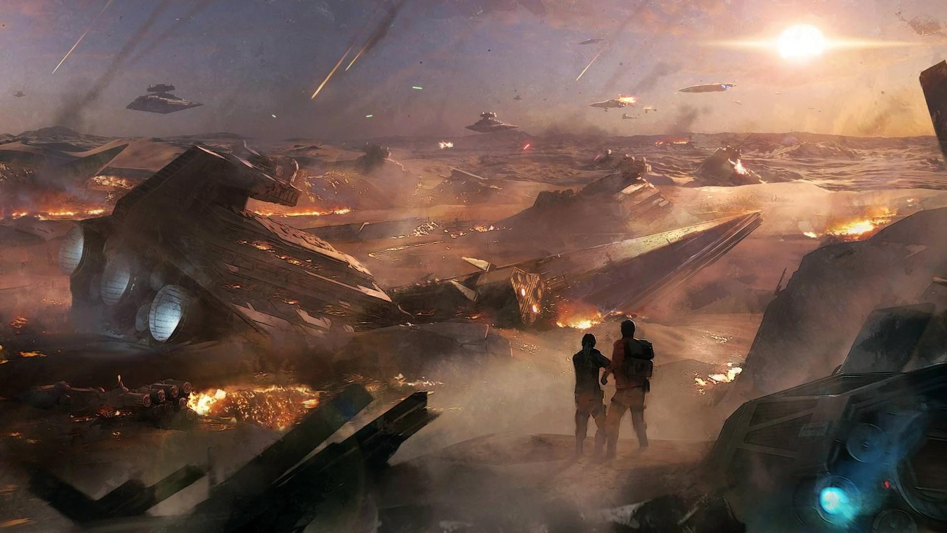 The Battle of Jakku | Star Wars Battlefront Wiki | Fandom