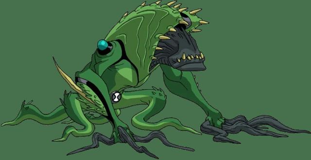 Ben 10 Omniverse Tyrannopede Toy