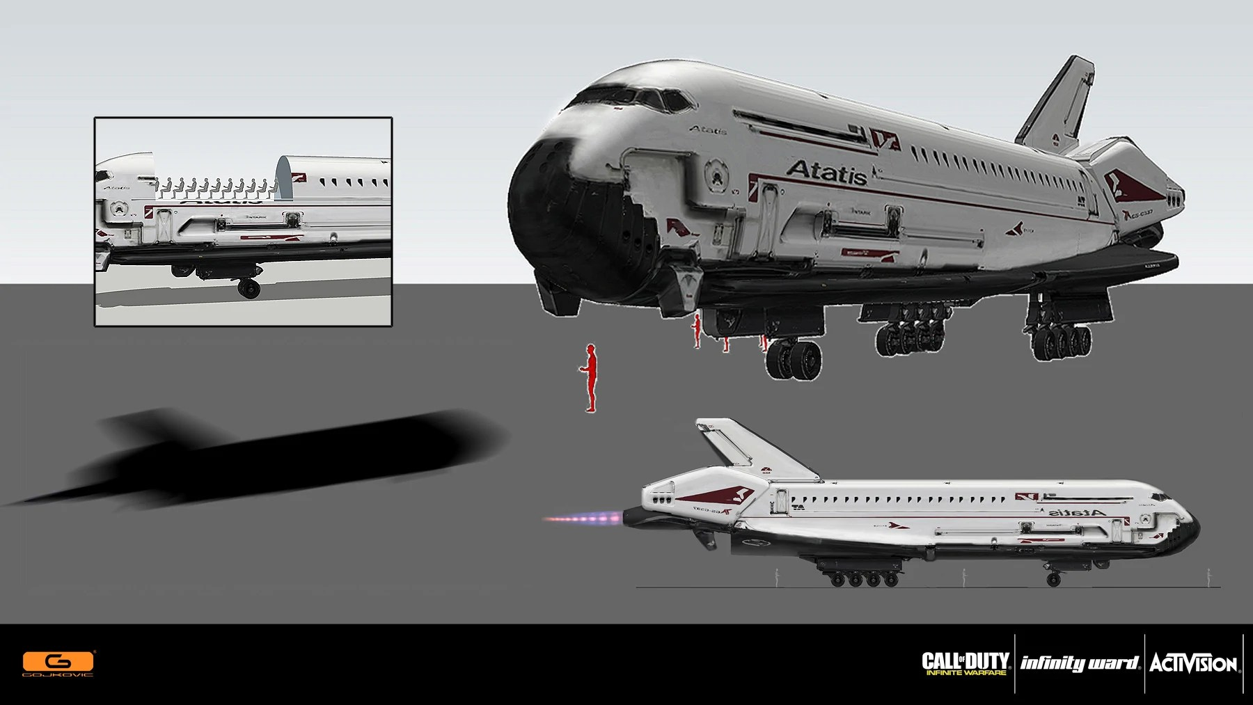 Image - Space shuttle concept IW.jpg | Call of Duty Wiki ...