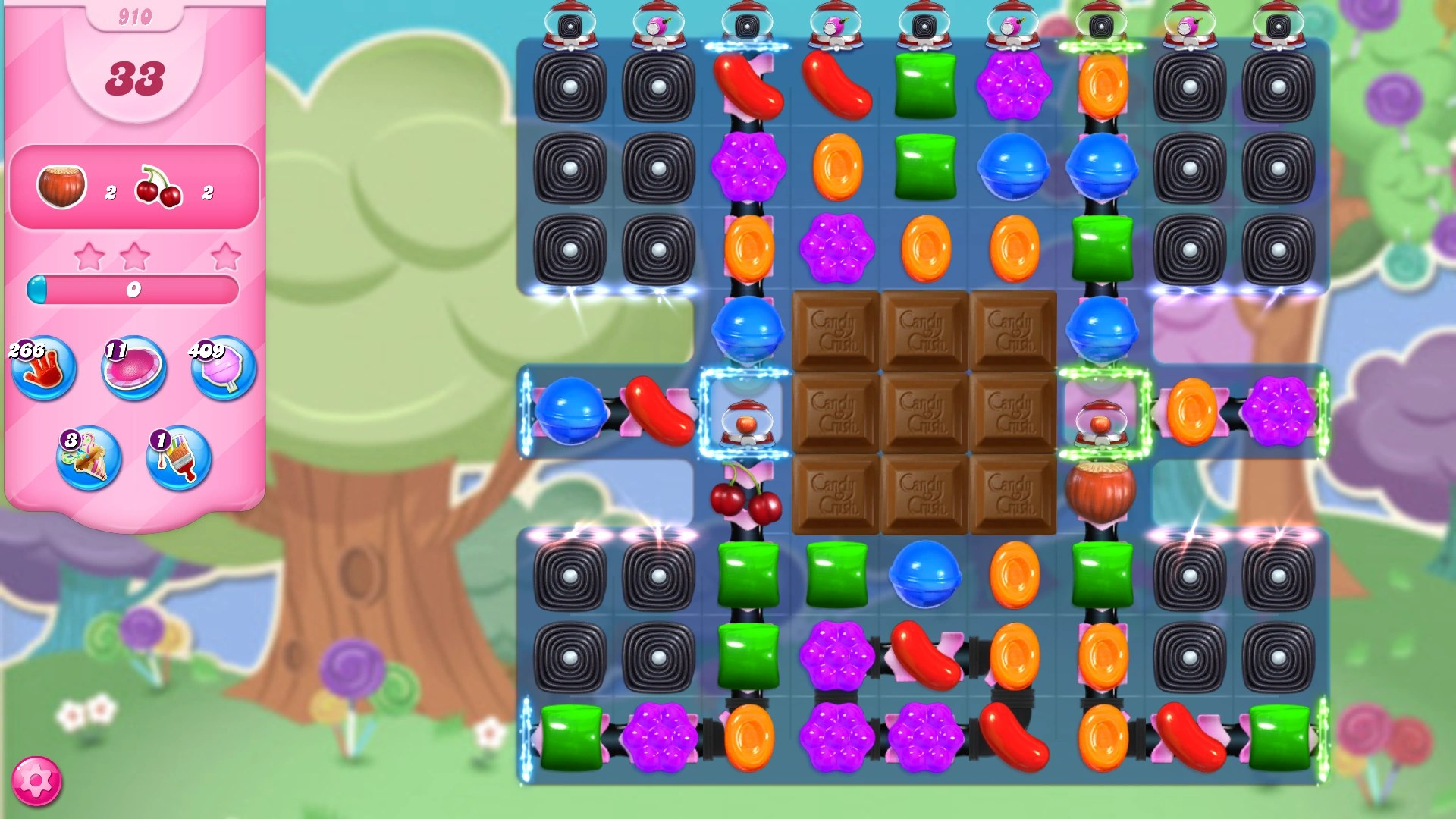 Level 910 | Candy Crush Saga Wiki | FANDOM powered by Wikia