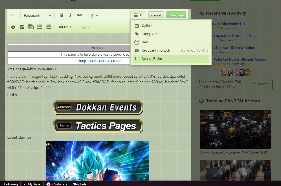 Tactics Template Empty Dragon Ball Z Dokkan Battle Wikia FANDOM Powered By Wikia