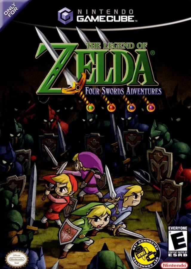 The Legend Of Zelda Four Swords Adventures Nintendo