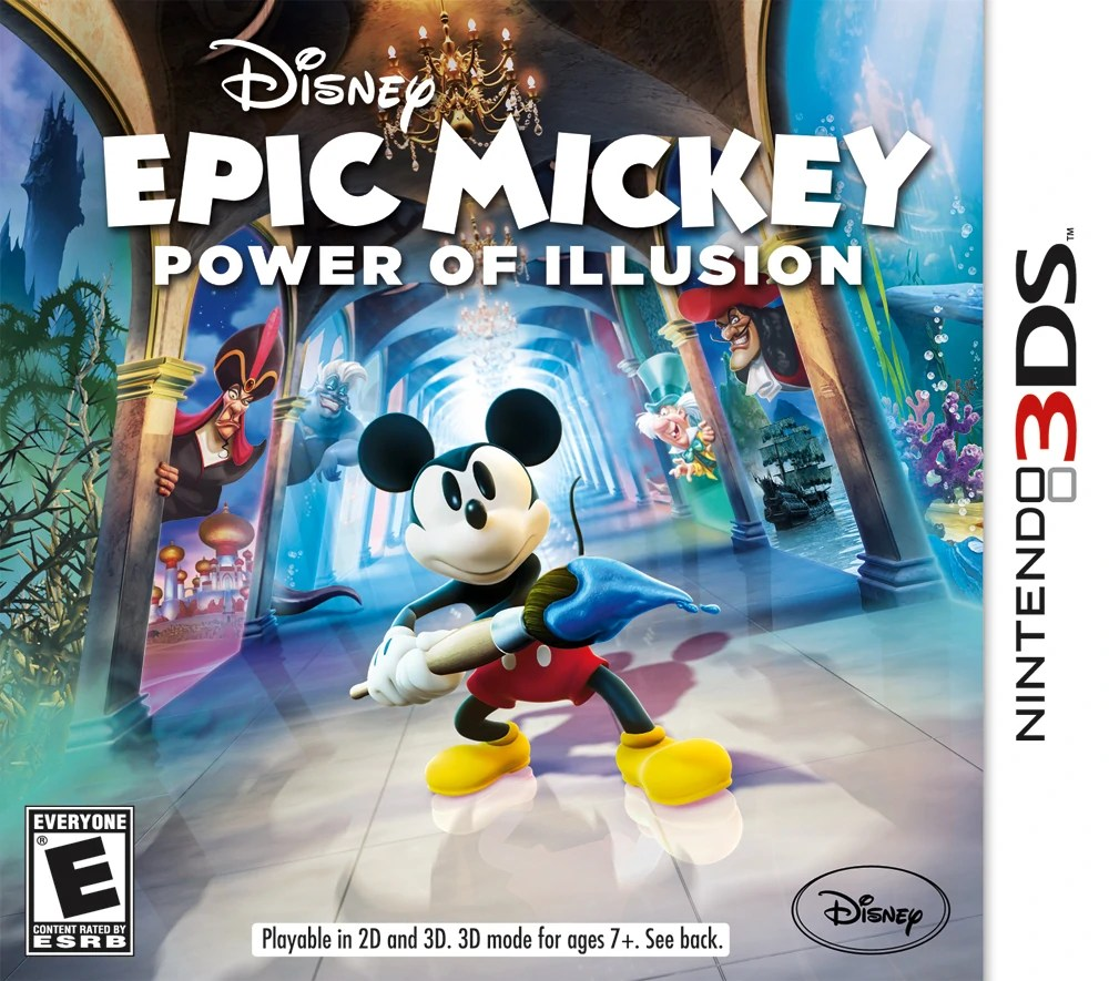Epic Mickey  Power of Illusion   Disney Wiki   FANDOM powered by Wikia Epic Mickey  Power of Illusion