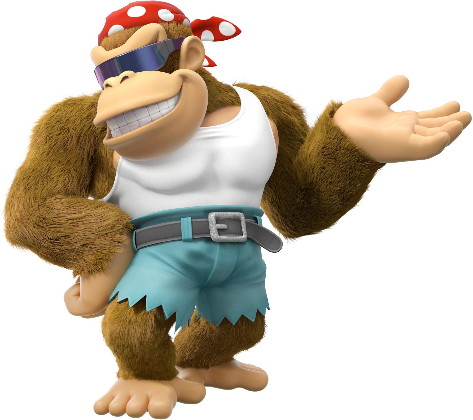 64 Kong Donkey Cranky Kong