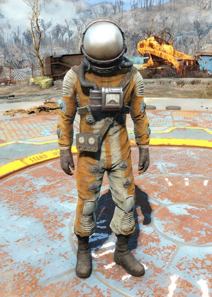 Hazmat Suit Fallout 4 Fallout Wiki FANDOM Powered By Wikia