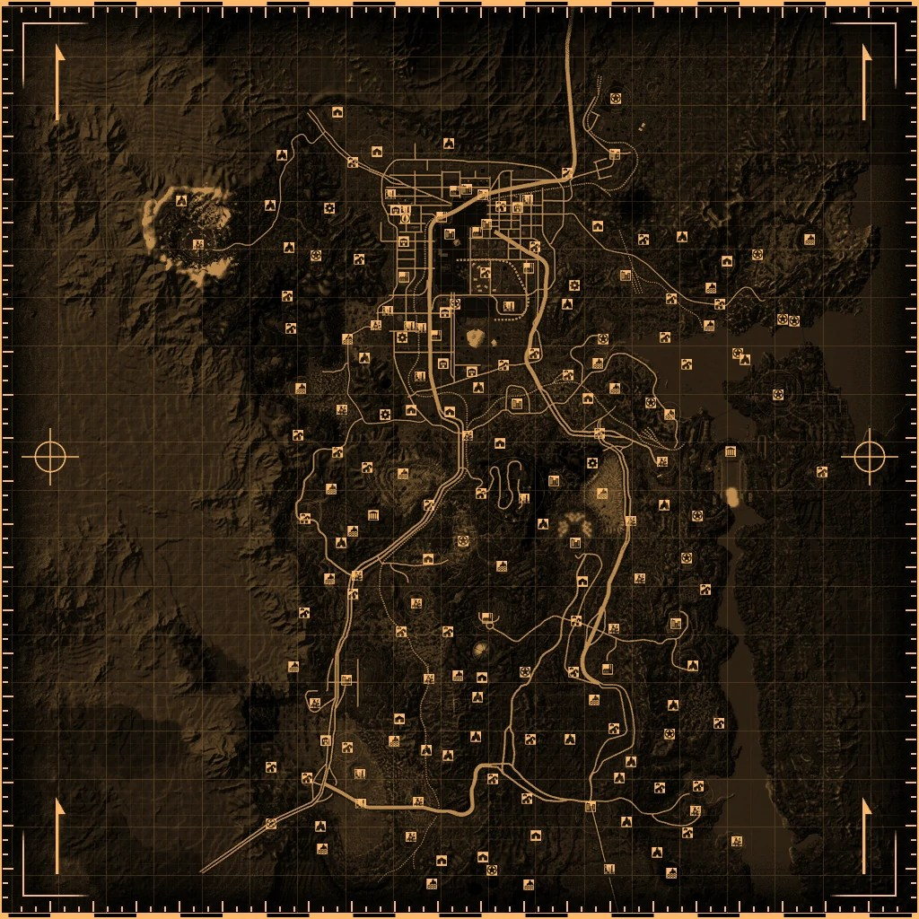 Fallout New Vegas Locations Fallout Wiki FANDOM Powered By Wikia