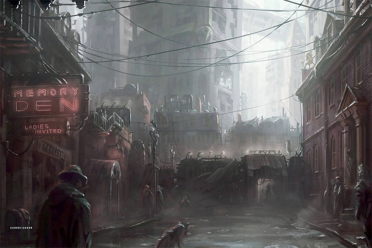 Image Memory Den Concept Art E3Demopng Fallout Wiki FANDOM Powered By Wikia