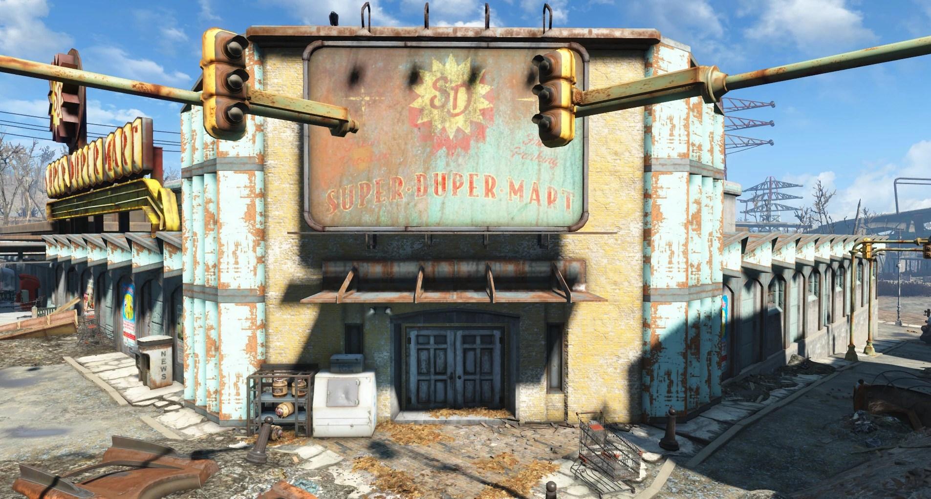 Super Duper Mart Fallout 4 Fallout Wiki FANDOM Powered By Wikia