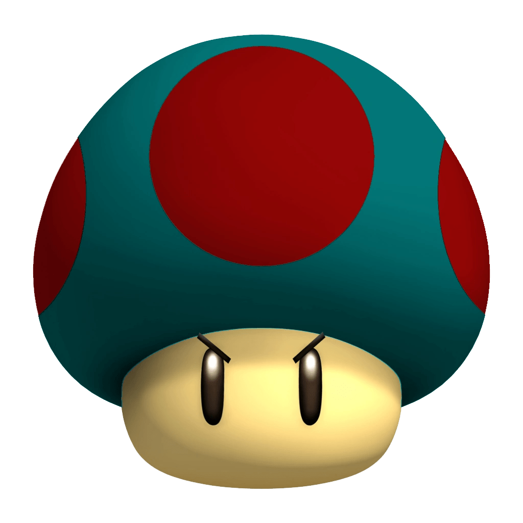 Mario Mushrum And Original