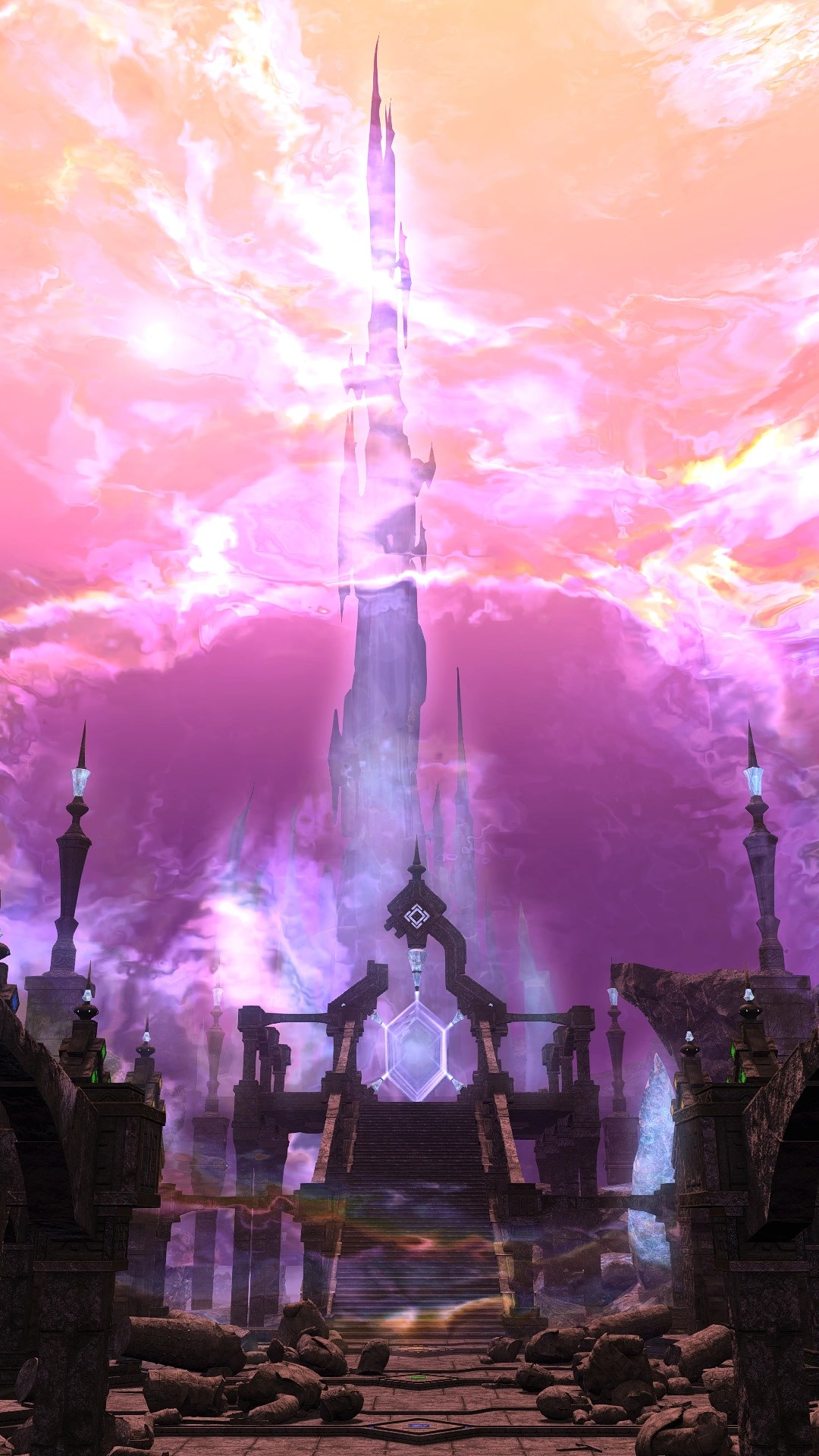 Crystal Tower Final Fantasy XIV Final Fantasy Wiki