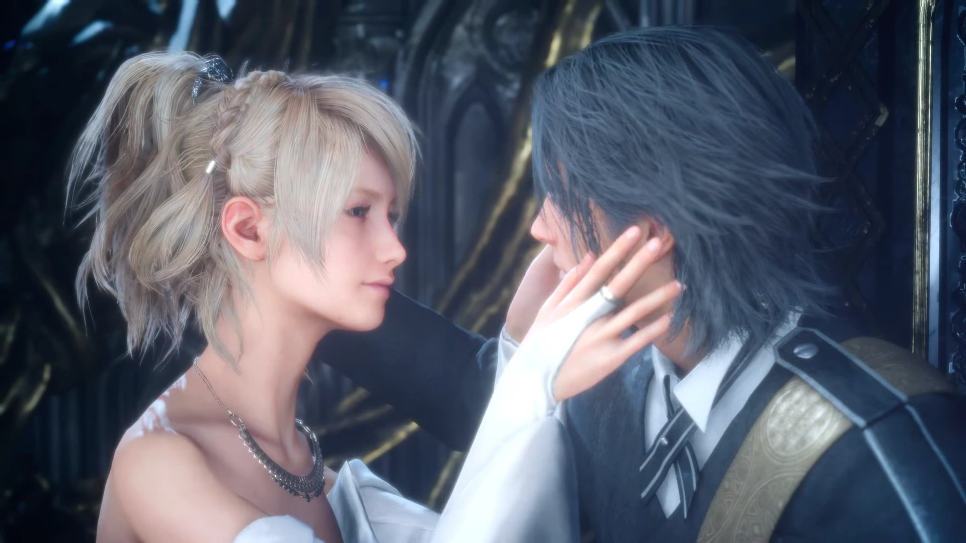 Image FFXV Luna Noctis Afterlifepng Final Fantasy
