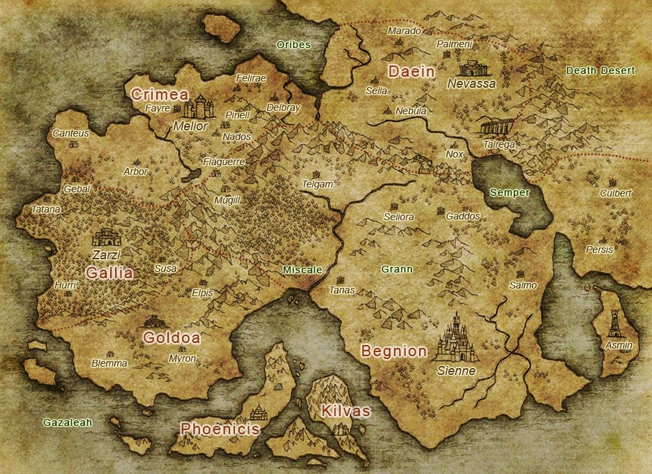 a World Map That Doesn t