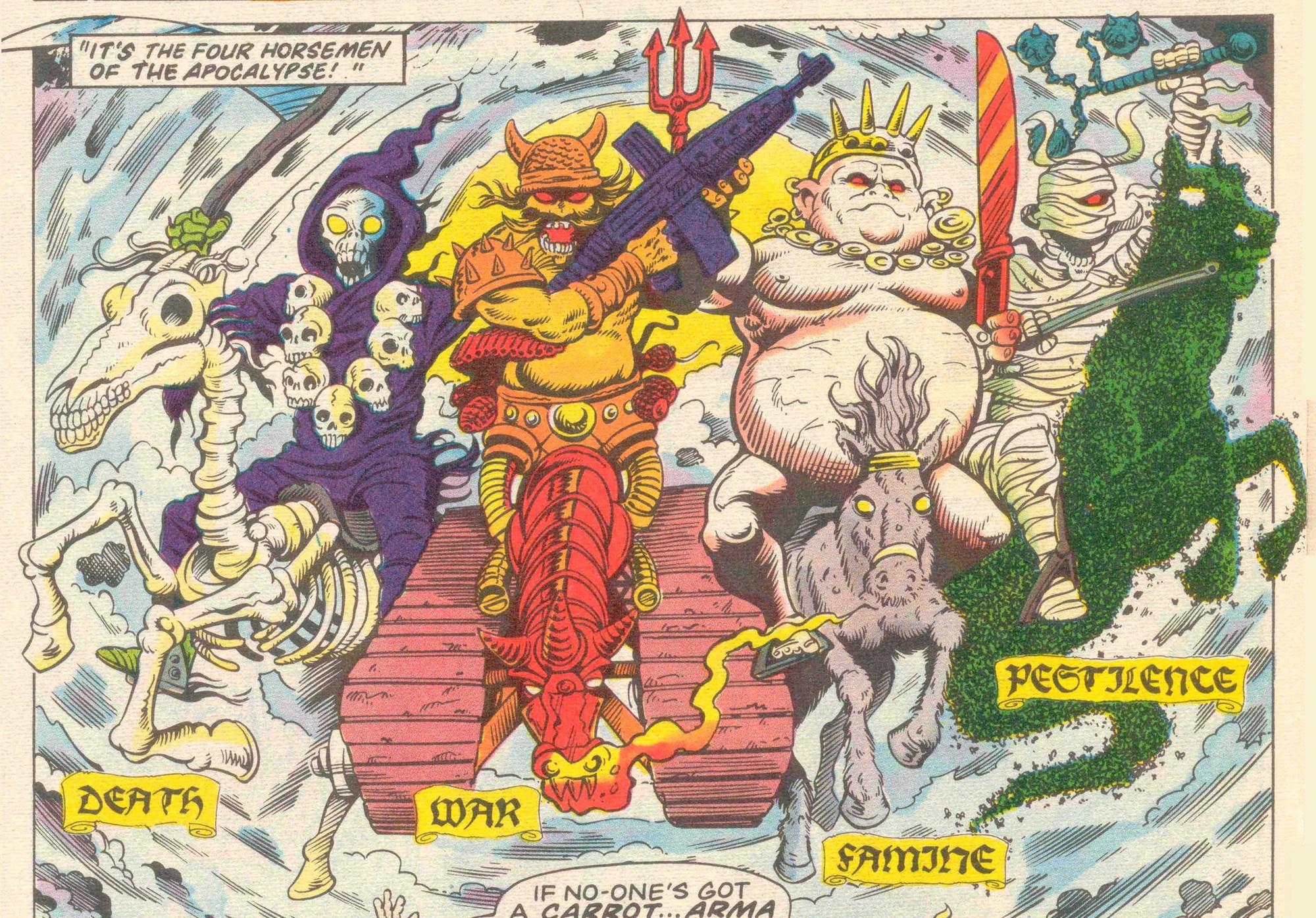 Four Horsemen Of The Apocalypse Marvel Comics Ltd