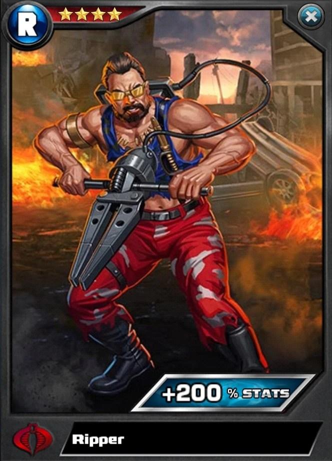 Ripper Elite R4 GI Joe Battleground Wiki FANDOM Powered By Wikia